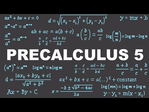Precalculus 5 : Rational Expressions