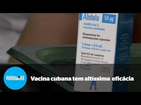 Vacina contra a Covid-19 criada em Cuba tem eficácia de 92%