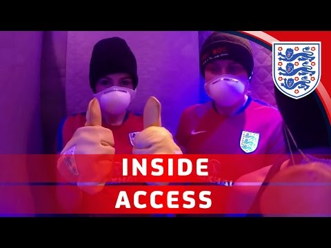 Exclusive - Cryotherapy recovery session with the Lionesses | Inside Access