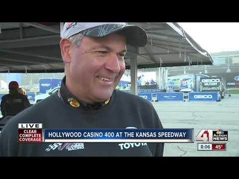 Hollywood Casino 400 rolls at Kansas Speedway