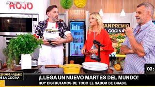 La comida brasileña cayó como una bomba en el equipo rojo y sus cocineros quedaron desorientados