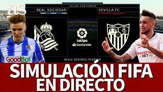 REAL SOCIEDAD vs. SEVILLA | FIFA 20: simulación del partido de la Jornada 37 de LaLiga | Diario AS