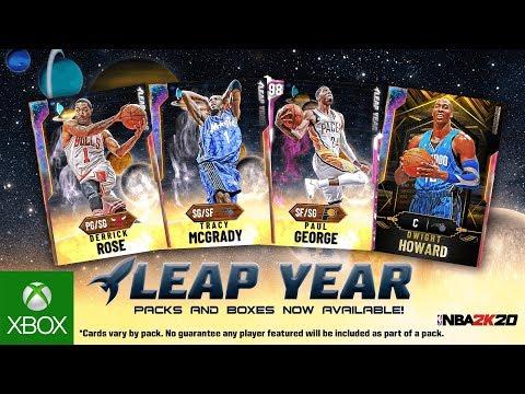 NBA 2K20 MyTEAM: Leap Year Pack