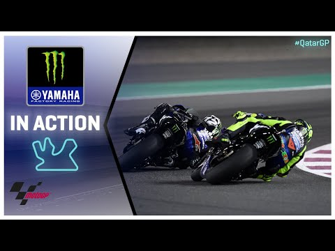 Yamaha in action: VisitQatar Grand Prix