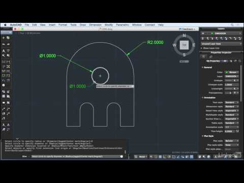 AutoCAD for Mac 2016 New Features | DIM command