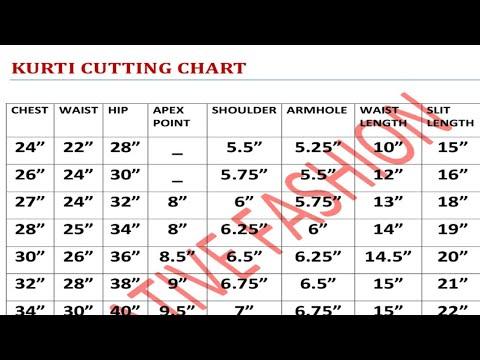 kurti cutting chart 関連動画 | スマホ対応 動画ニュース