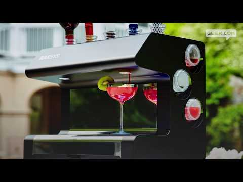 Robot Bartender Will Mix You the Perfect Drink
