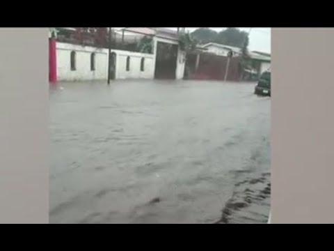12 comunidades de Costa Rica afectadas por lluvias e inundaciones de calles y viviendas