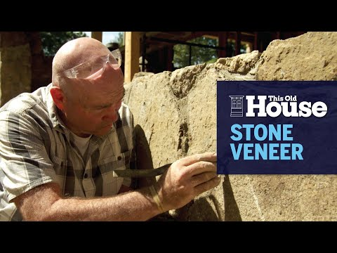 How to Create a Stone Wall Look with Veneer | This Old House