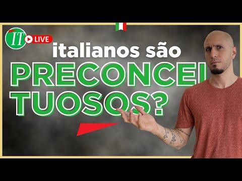 FUI VÍT1MA DE PREC0NCEIT0 NA ITÁLIA!