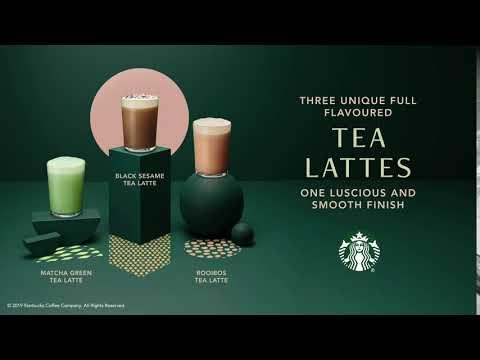 Starbucks Teavana® Tea Lattes