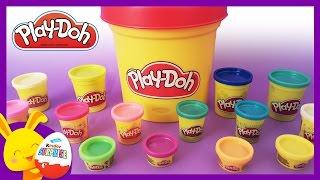 Couleurs - Apprendre les couleurs avec la pâte à modeler Play-Doh - Titounis - Touni Toys