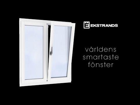 Europa fönstret - Ekstrands inåtgående fönster