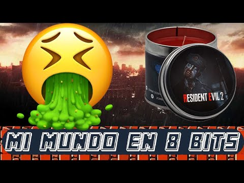 VELA RESIDENT EVIL 2 - ¿JUEGOS CON OLORES? - MERCHANDISING CAPCOM