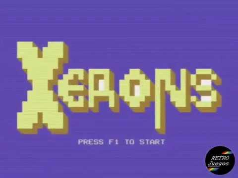 Xerons (Commodore 64) - Review de RETROJuegos por Fabio Didone