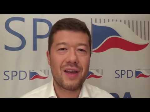 Tomio Okamura: Demonstrace SPD v Brně v sobotu 25.června