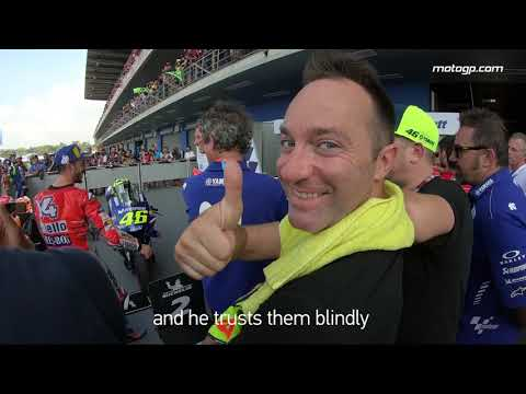 GoPro?: Meet Max Montanari, assistant to Valentino Rossi