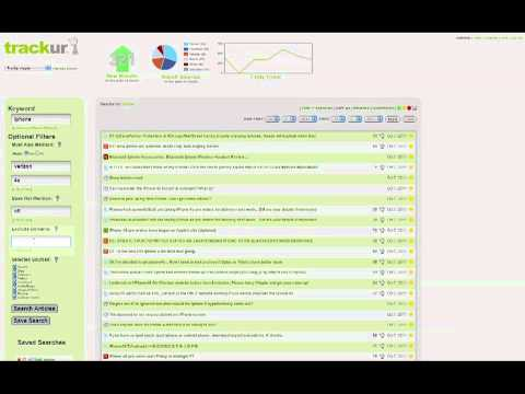 Trackur Quick Start Tutorial