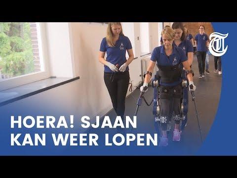 Briljante uitvinding laat dwarslaesie-patiënt weer lopen