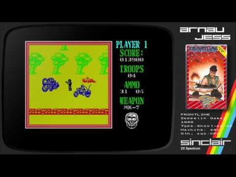 FRONTLINE Zx Spectrum by Zeppelin Games