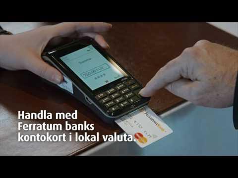 Ferratum Bank bankkort