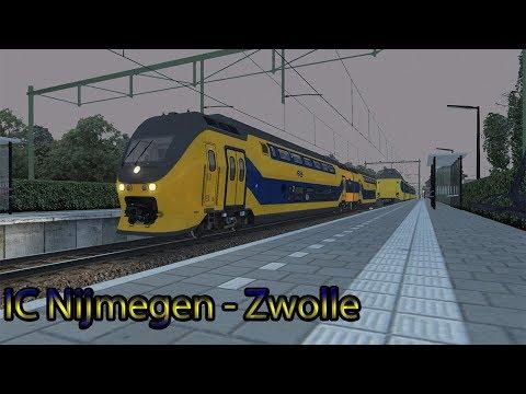 IC Nijmegen  Zwolle  Train Simulator 2018