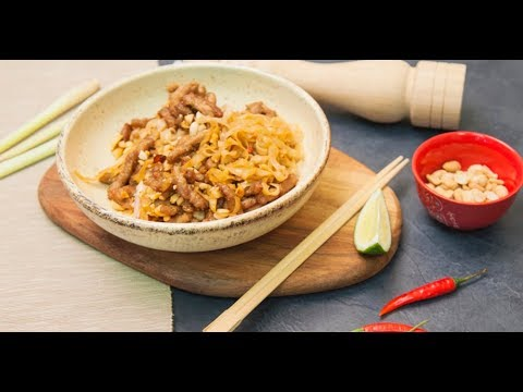 Рисовая лапша с арахисом | Кто готовит — тот не моет