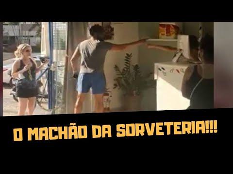 O MACHÃO DA SORVETERIA!!!