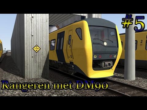 Rangeren met de DM90 (Buffel) - Train Simulator 2017 (Livestream #5)