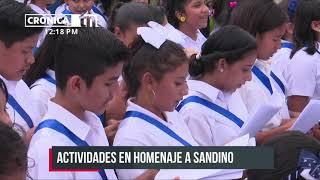 Nicaragua desarrollará actividades de educación en homenaje a Sandino
