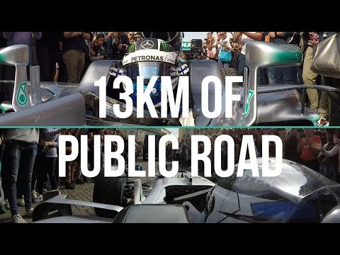 Crazy F1 Onboard Through the Streets of Italy