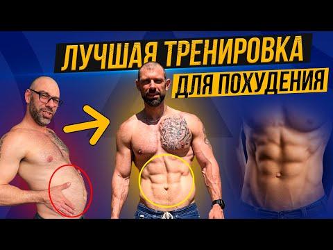 Идеальная тренировка для похудения. Схема жиросжигающей тренировки.