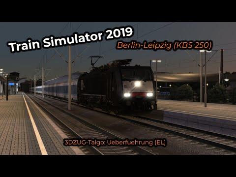3DZUG-Talgo:L Ueberfuehrung (EL) -- Livestream 25/08/2019