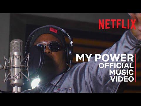 """MY POWER"" OFFICIAL MUSIC VIDEO WITH LYRICS | CHIKA | Netflix"
