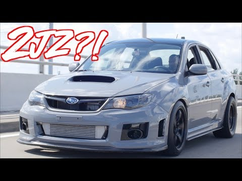 "2JZ Subaru WRX ""SupraRu"" - The Most Reliable Subaru Ever""!"