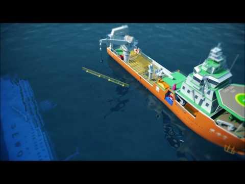 세월호 인양방식-플로팅도크(Floating dock)