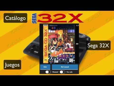 Catálogo juegos SEGA 32X