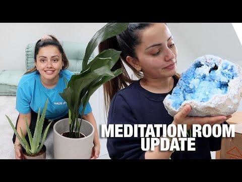 MY MEDITATION ROOM UPDATE + AMAZON UNBOXING + ETSY UNBOXING | Kaushal Beauty