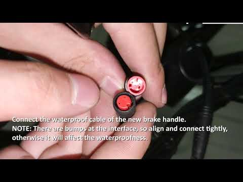 How to replace the rear brake lever AMA005685