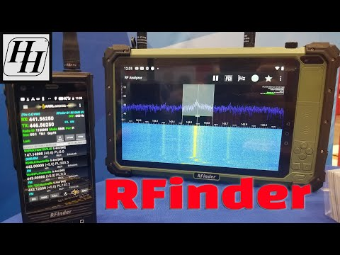 New RFinder P10 Tablet with Dual Band DMR and RTL-SDR Receiver - Huntsville Hamfest
