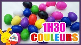 Compétitions des couleurs - Oeufs surprises pour apprendre les couleurs - Touni Toys -Titounis