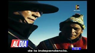 Candidatos del MAS emitieron mensaje por el aniversario de Bolivia