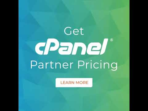 Get cPanel Partner Pricing