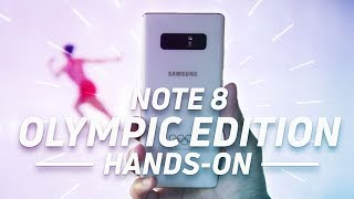 This is the Olympic Galaxy Note 8