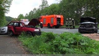 NRWspot.de | Herdecker Straße Frontalzusammenstoß – Drei Verletzte