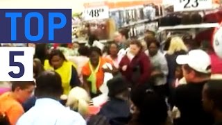 Top 5 Black Friday Shoppers || JukinVideo Top Five