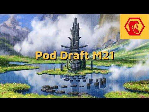 MTGA M21 Pod Draft da Galera - Azorius Mill