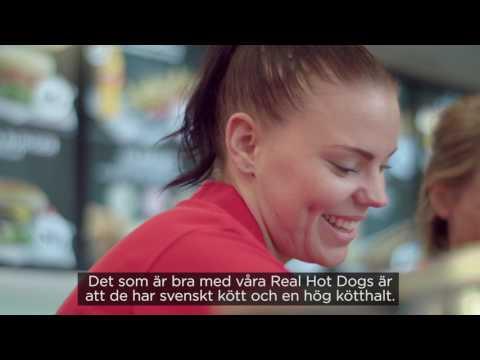 Sophie, Assistant Store Manager, på Circle K i Värnamo - Berättar om våra Real Hot Dogs