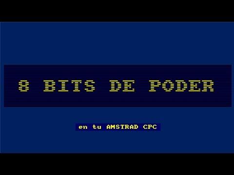 Descubre 8 bits de poder (librería 8BP) en tu AMSTRAD