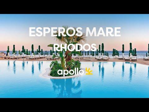 Apollos hotell Esperos Mare på Rhodos